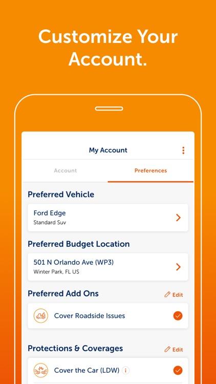 Budget – Car Rental screenshot-4