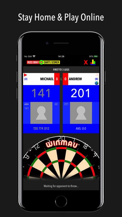 Russ Bray Darts Scorer Pro screenshot two