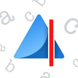 Ícone do app Prizmo Go › Text Grabber