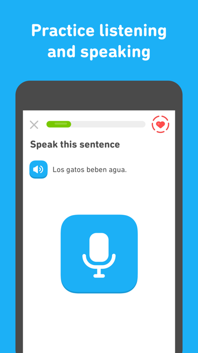 Screenshot for Duolingo in Czech Republic App Store