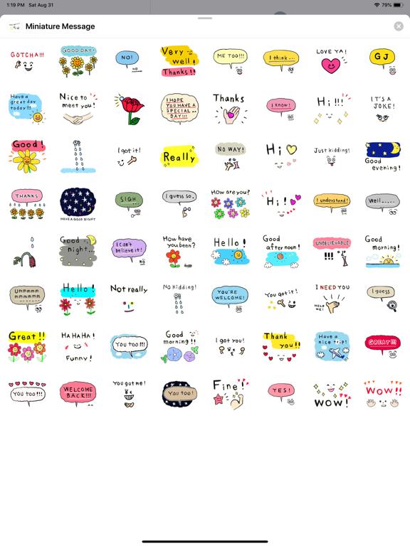 Miniature Message screenshot 5