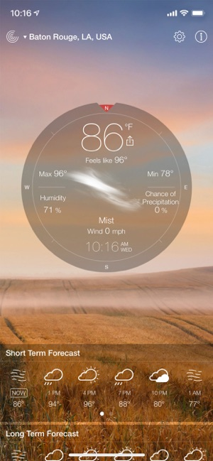 42baf8a0dc9c2 Weather Live゜ on the App Store
