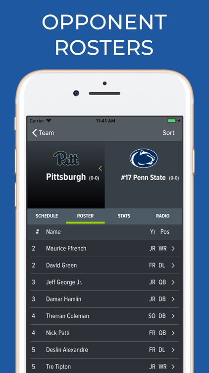 Penn State Football Schedules screenshot-7