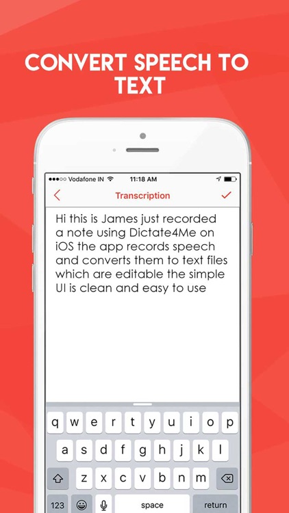 Dictate4Me - Transcribe Audio screenshot-4