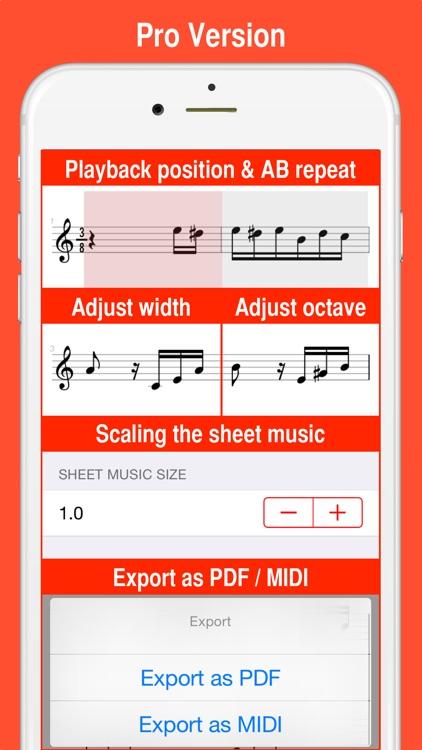 MIDI Score screenshot-3