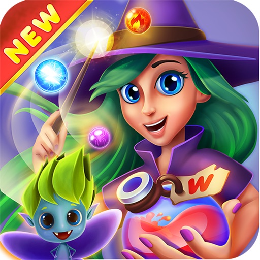 WitchLand: Bubble Shooter