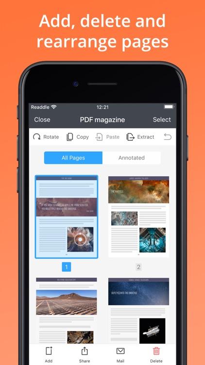 PDF Expert: PDF Reader, Editor screenshot-7