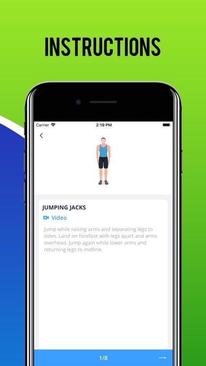Men Fitness Workout screenshot-3