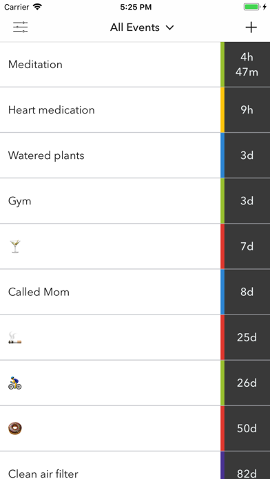 Hindsight - Time Tracker Screenshots