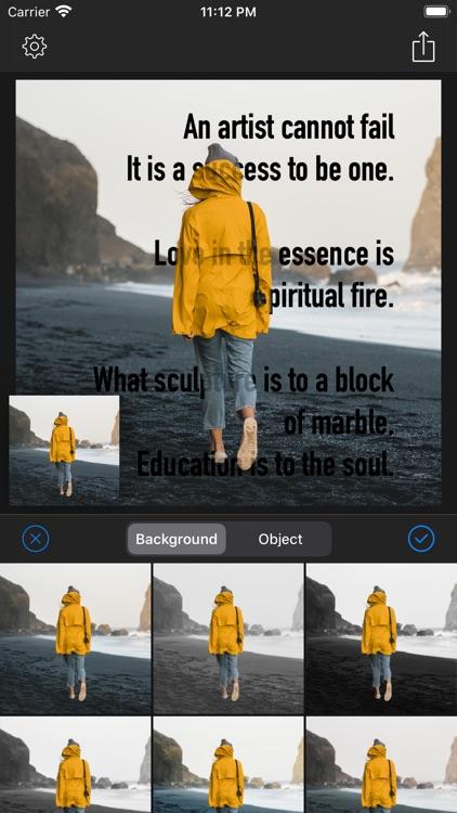 Text Under Image - 3D Text screenshot-5