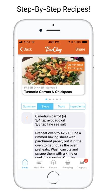 TimeChop Wellness Recipes screenshot-5