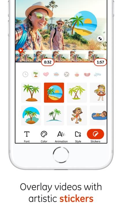 Typomatic - Add text to videos screenshot-3