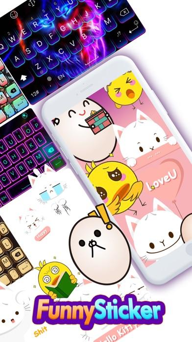 TouchPal Emoji Keyboard by TouchPal HK Co , Ltd  (iOS