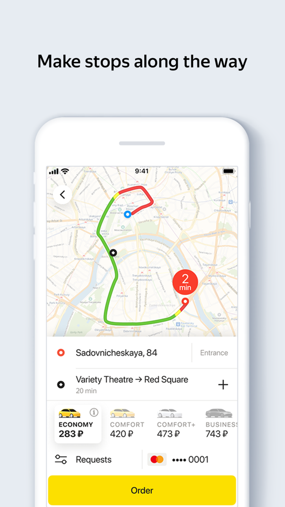 Yandex Taxi App for iPhone - Free Download Yandex Taxi for iPhone at