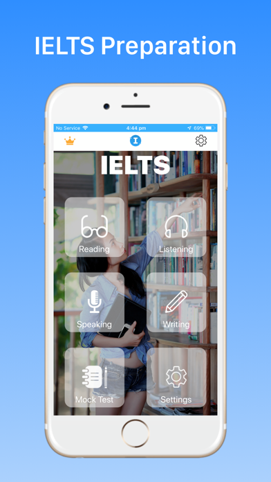 IELTS Exam Test Practice 2019 screenshot one