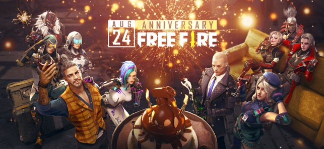 Mod Game Garena Free Fire - Anniversary for iOS
