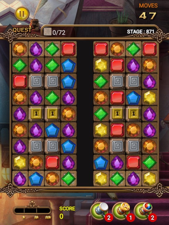 Jewels Magic Quest screenshot 11