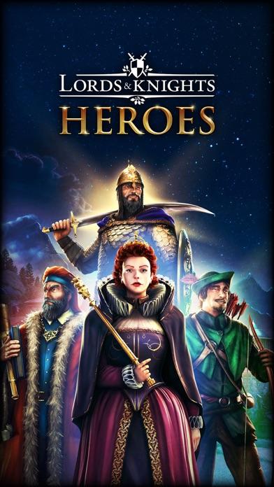 貴族達と騎士達Lords & Knights - MMOのおすすめ画像1