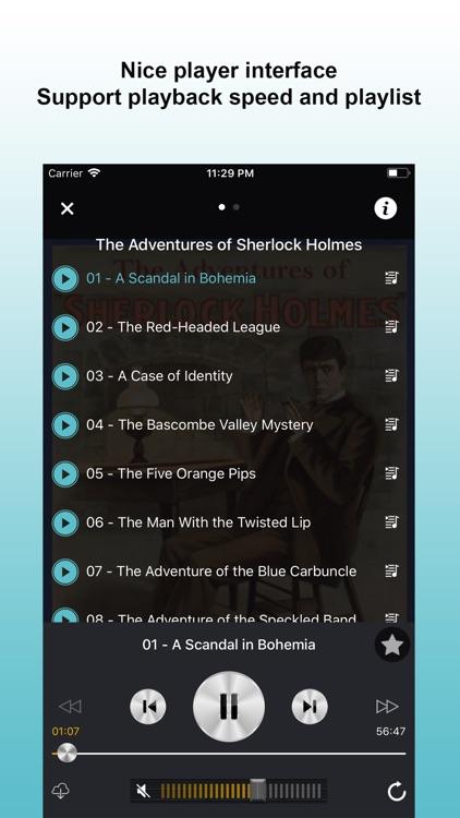 Audio Books Library Online screenshot-4