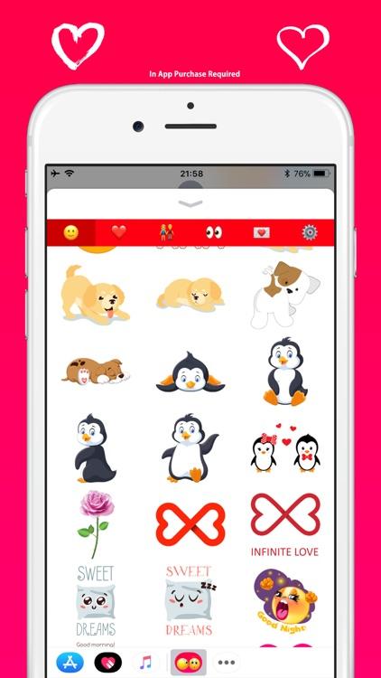 Love Emoji - Cute & Adorable screenshot-3