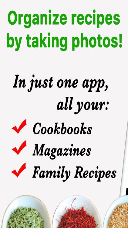 Recipe Selfie Cooking App screenshot-0