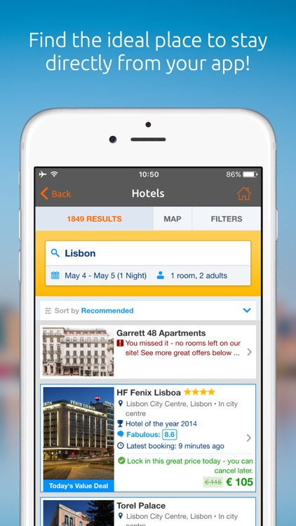 Opodo - Flights, Hotels & Cars screenshot-5