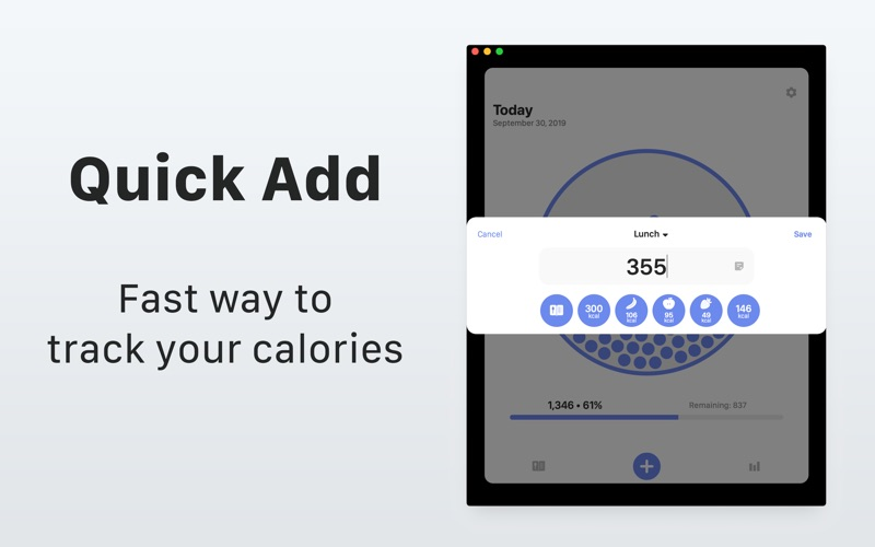 Calory: Daily Calorie Counter screenshot 2