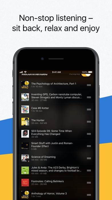 Acast - Podcast Player screenshot