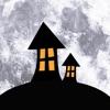 カレンダー月の段階で、夜空に映像 - 天気アプリ