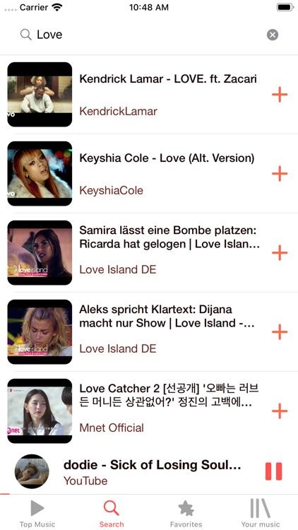 Musi Tube - Music Video Player screenshot-3
