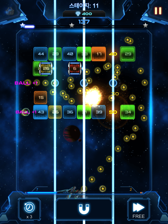 Bricks Breaker Galaxy Shooter screenshot 11