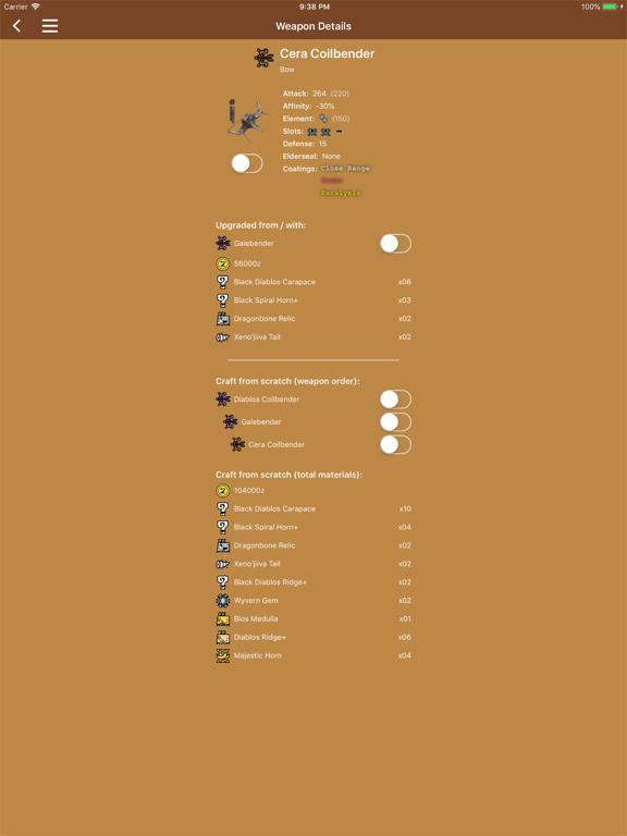 MHW Companion by Sebastian Kruse (iOS, United States) - SearchMan