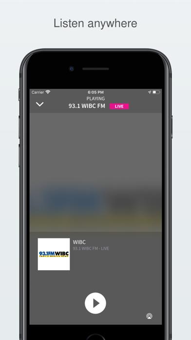 93.1 WIBC screenshot two