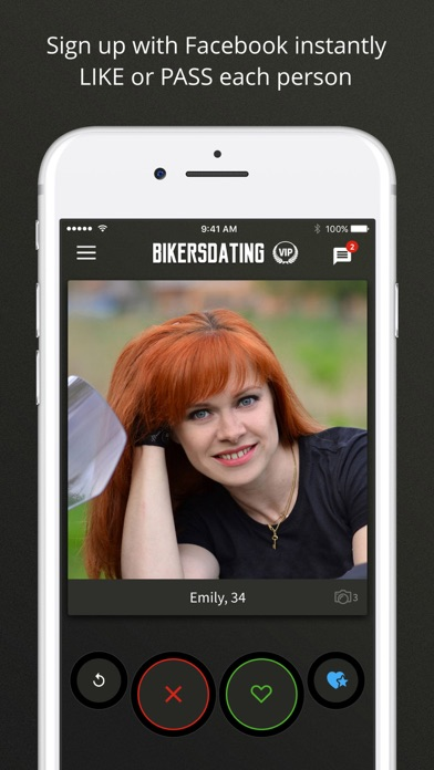 Bikers Dating screenshot one