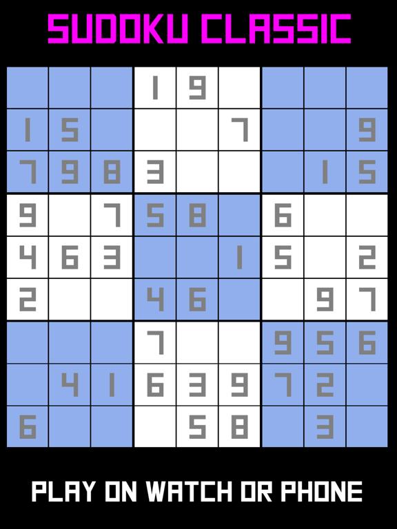 Sudoku Classic : Watch & Phone screenshot 5