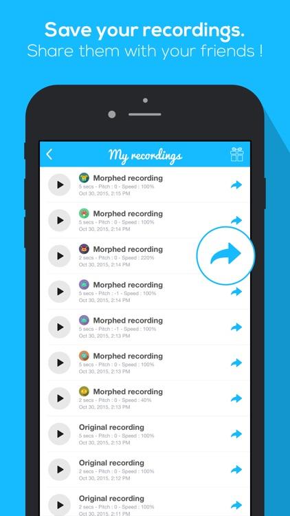 Voice Morphing - screenshot-3