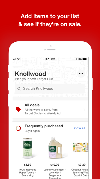 Screenshot for Target in United States App Store