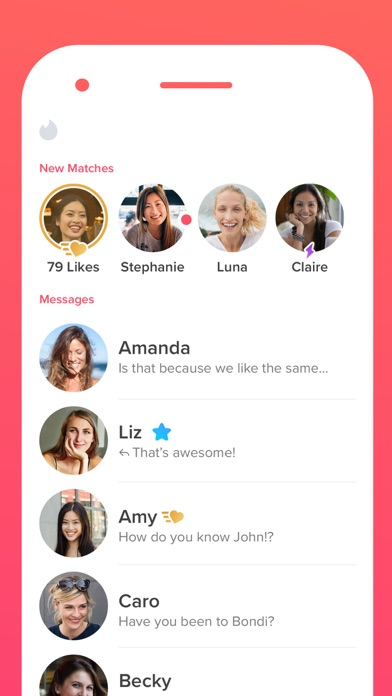 Screenshot for Tinder in New Zealand App Store