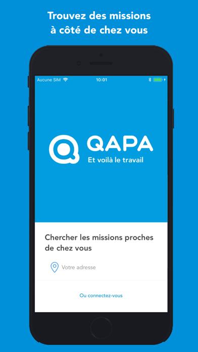 Screenshot #1 pour QAPA: Emploi intérim, CDI/CDD