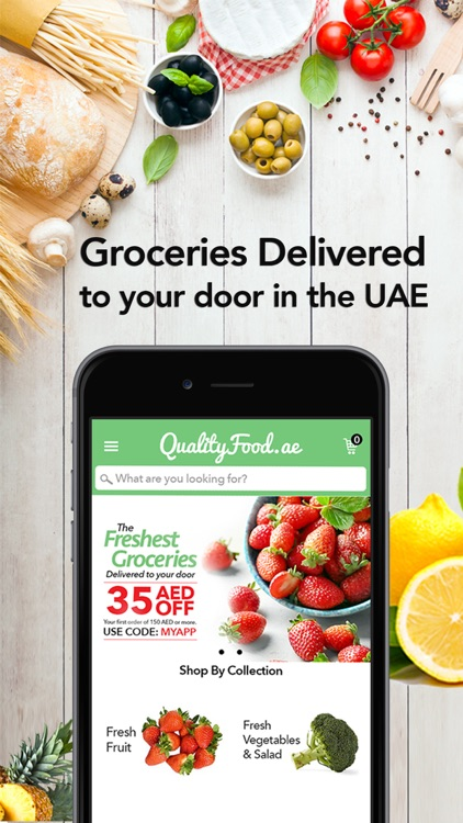 QualityFood : Grocery Delivery