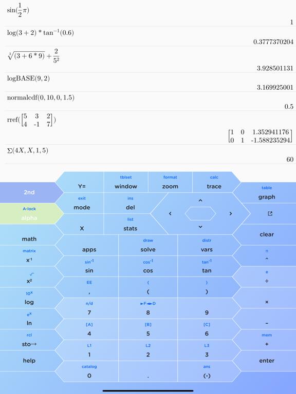 HyperCalc Graphing Calculator screenshot 7
