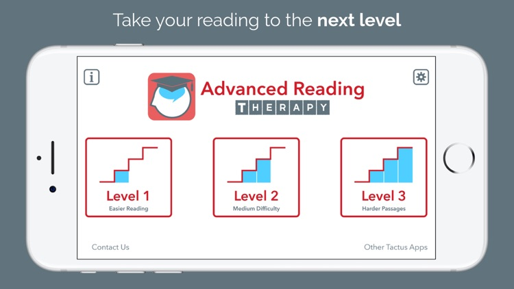 Advanced Reading Therapy