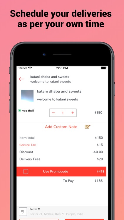 AppsRhino food Delivery screenshot-4