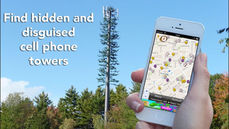 Cellular Network Signal Finder