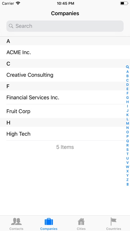 Contacts XT - Address Book screenshot-3