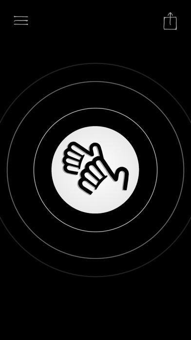 拍手 拍手 歓声 応援 音 ボタンのおすすめ画像1