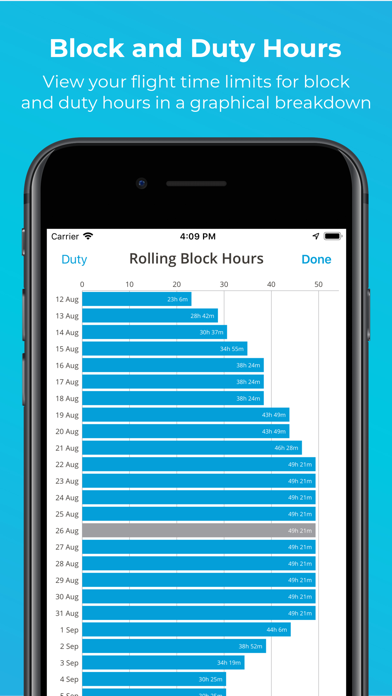 Screenshot #3 pour RosterBuster Airline Crew App