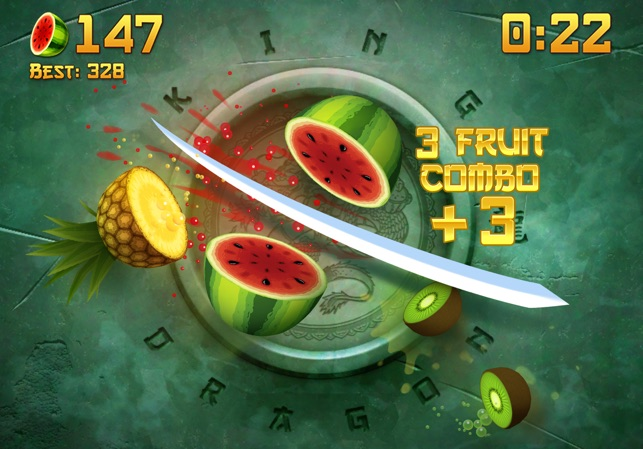 ‎Fruit Ninja® Screenshot