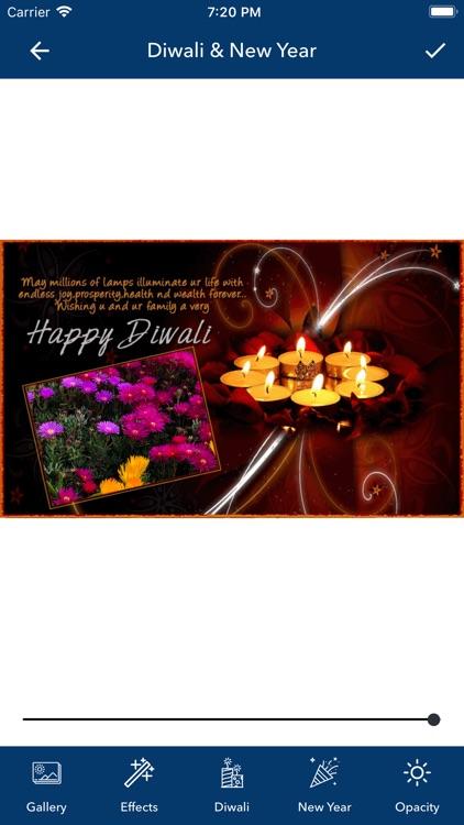 Diwali & New Year Pip Frames screenshot-8