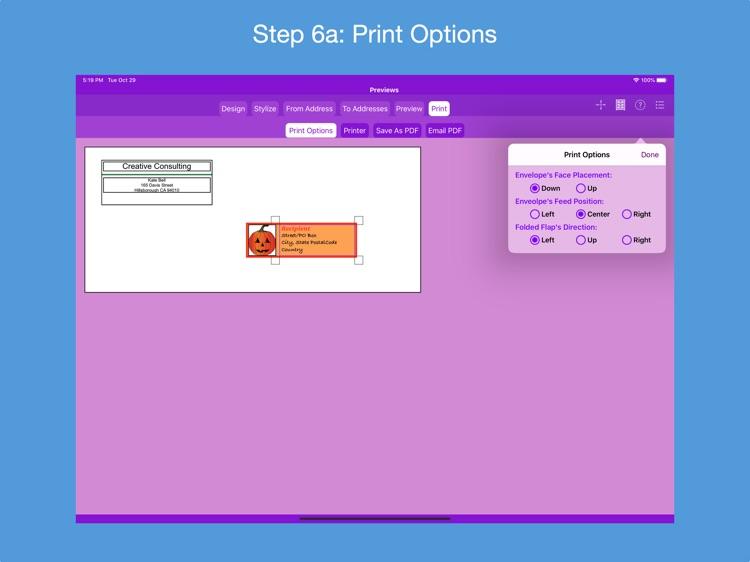 Addressed Envelope Designer screenshot-6